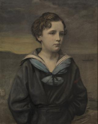 2ND LORD REVELSTOKE AS A BOY by unknown