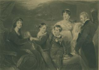 FAMILY OF SIR FRANCIS BARING by Unknown