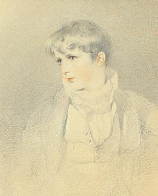 Francis T Baring, Later 1st Lord Northbrook, as a boy by Lawrence, Sir Thomas