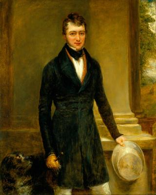 THOMAS BARING (1799-1873) by Linnell, John